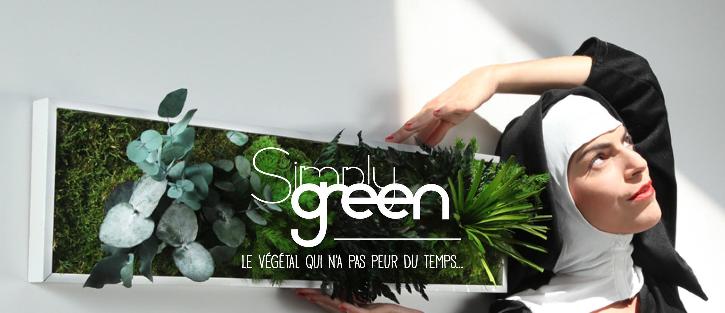 Collection Simply green (végétaux stabilisés)